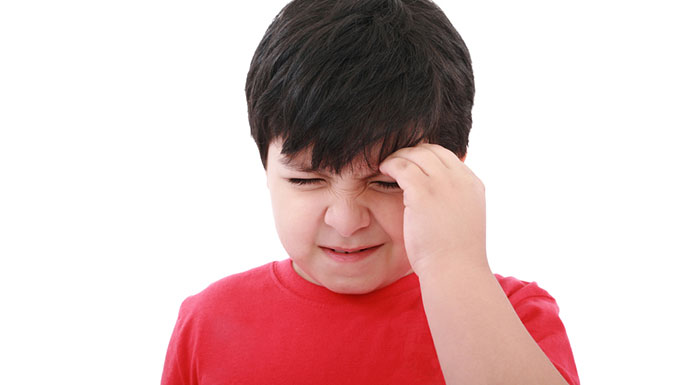 child with concussion like symptoms