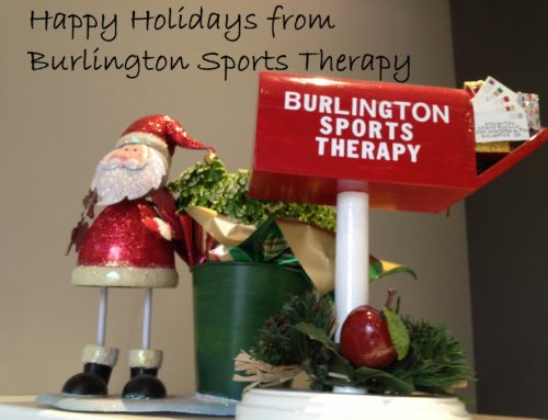Happy Holidays from Burlington Sports Therapy!
